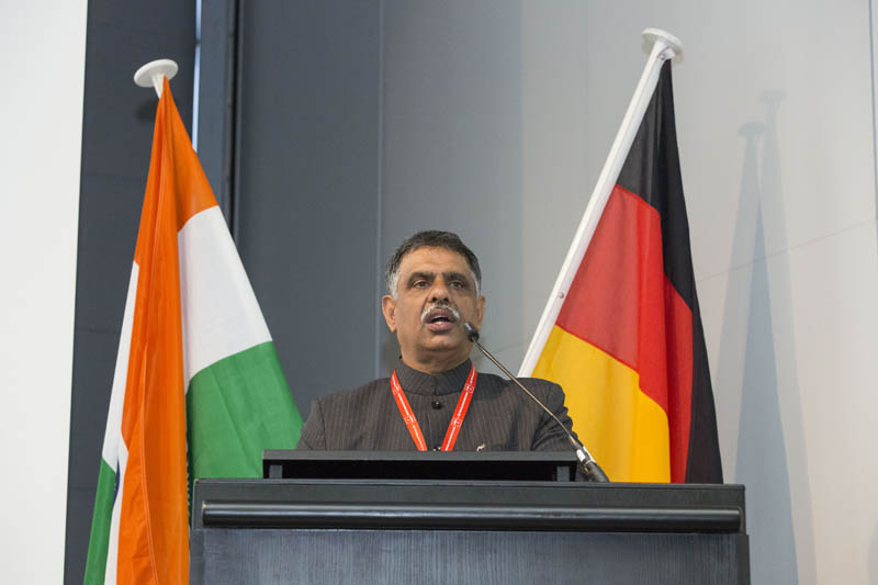 Minister Singh Khimsar speaks at Rajasthan meeting with Niedersachsen 01